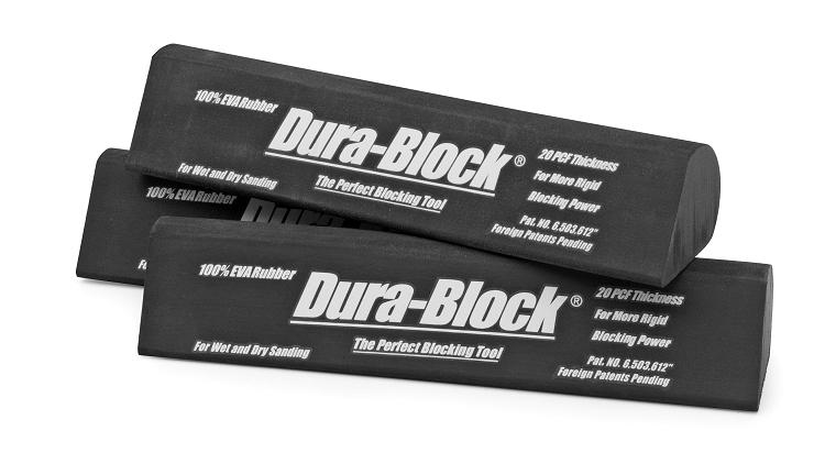 Dura-Block AF4414 Black Full Size Radius Sanding Block