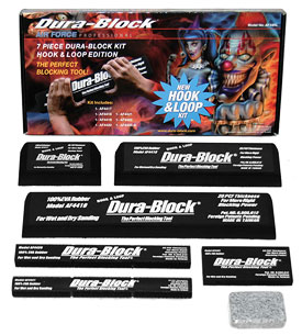 7 Piece Hook & Loop type Dura-Block Kit - AF44HL
